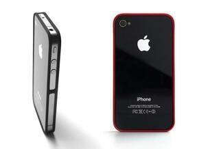 4-4 case for iPhone 4 GSM + CDMA/Verizon in Black Natural Versatile Plastic