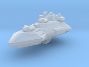 Wedget-Frigate in Smooth Fine Detail Plastic