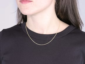 Chains in Yellow Gold-Filled Cable Chain 16in / 40.6cm