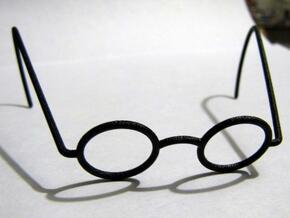 Charmin Chatty Glasses in Black Natural Versatile Plastic