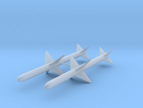 "AAM-N-3/AIM-7B ""Sparrow II"" in Smooth Fine Detail Plastic: 1:48 - O"