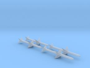 "AAM-N-3/AIM-7B ""Sparrow II"" (Quad Pack) in Smooth Fine Detail Plastic: 1:48 - O"