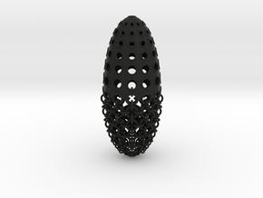 Kogel-hanger / Bullet pendant in Black Natural Versatile Plastic