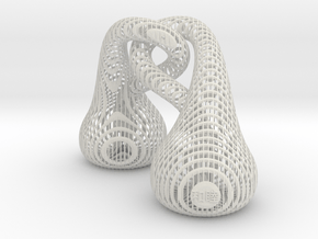 HARMONY 和睦 (Chinese) in White Natural Versatile Plastic