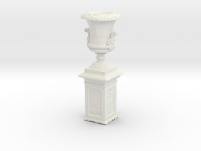 Printle Thing Outdoor Vase - 1/24 - wob in White Natural Versatile Plastic