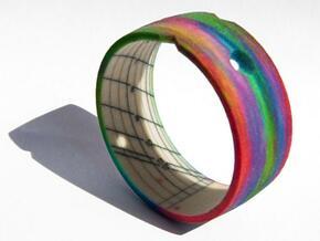 Sundial Bangle in Full Color Sandstone