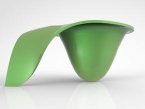 houdini cup in White Natural Versatile Plastic