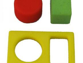 Out of the Box - medium in White Processed Versatile Plastic