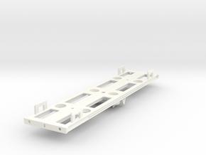 GWR Dia M17 Bullion Van Part 3 (Underframe) in White Processed Versatile Plastic