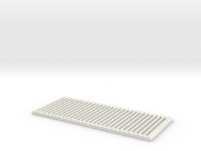 Vertical Grill RC4WD D90/D110 in White Natural Versatile Plastic