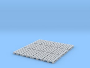 1/72nd scale Pallet pack (12 pieces) in Smooth Fine Detail Plastic