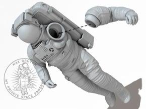 NASA EMU (Extravehicular Mobility Unit) 1:32_II in White Natural Versatile Plastic