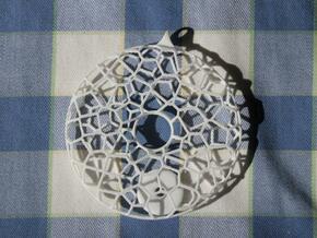 Pendulum L in White Natural Versatile Plastic