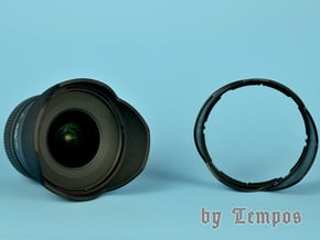 Gegenlichtblende Lens Hood for Sigma 10-20 in Black Natural Versatile Plastic