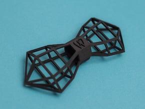 WIREFRAMER Bowtie by BITS TAILOR- READ DESCRIPTION in Black Natural Versatile Plastic