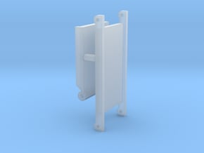 1/64 Small Square Baler Straight Chute Part #3 in Smooth Fine Detail Plastic