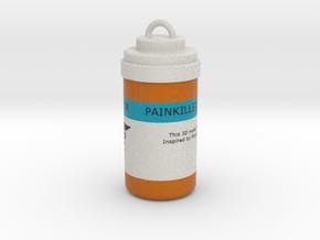 Painkiller Keyring Pendant From PUBG in Full Color Sandstone