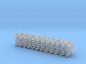 DMIR Bracket-96 Count-HO Scale in Smooth Fine Detail Plastic