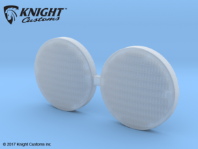 AJ10055 Spot Light Lens in Smooth Fine Detail Plastic