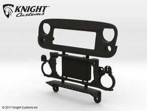 AJ30005 ANGRY Eye Var 2.0 Grill & Mount in Black Natural Versatile Plastic