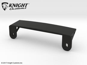 AJ30004 Body Mount ONLY (SCX10) in Black Natural Versatile Plastic