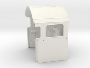 A0 - H1 Cab for A0 Boiler & Backhead Controls in White Natural Versatile Plastic