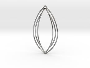 Flower 50 in Polished Silver
