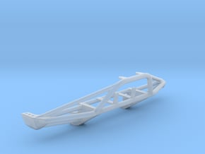 1/25 Early Bronco Front Tube Bumper, High Winch in Smooth Fine Detail Plastic