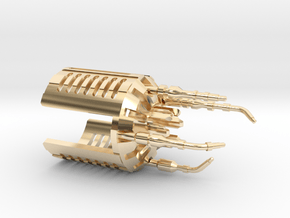 R-CC Crystal Chamber Upgrade Part 2 in 14k Gold Plated Brass