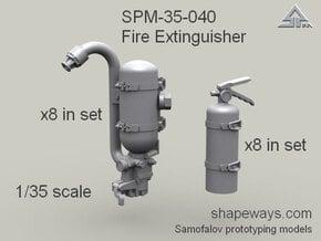 35_SPm041_FireExtinguisher_s1x35 in Smoothest Fine Detail Plastic