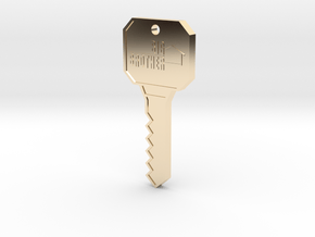 Big Brother Houseguest Key (Personalized Name!) in 14K Yellow Gold