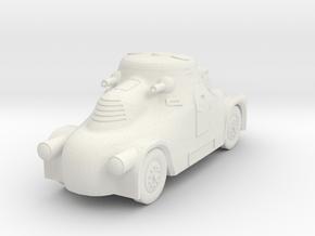 1/100 (15mm) Skoda PA-II in White Natural Versatile Plastic