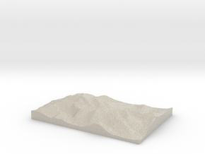 Model of Lough Callee in Natural Sandstone