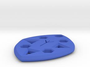 Nordic Amulet in Blue Processed Versatile Plastic
