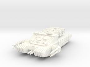 1/72 TX-225 GAVw 'Occupier' Tank & Cargo in White Processed Versatile Plastic: 1:72