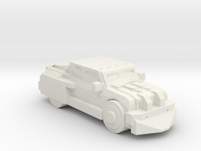 DeathRaceRally_Truck in White Natural Versatile Plastic