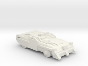DeathRaceRally_Mustang in White Natural Versatile Plastic