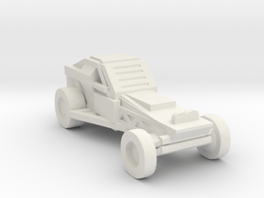 DeathRaceRally_Buggy in White Natural Versatile Plastic