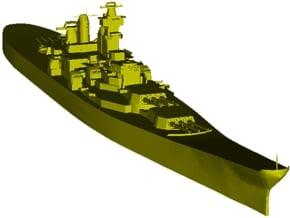 1/3000 scale USS Iowa BB-61 battleship x 1 in Smooth Fine Detail Plastic