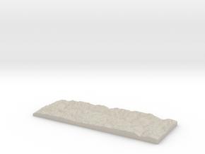 Model of Leinuna in Natural Sandstone