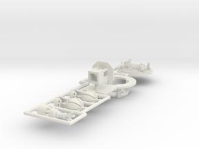 Ballonkarussell Antrieb - 1:220 in White Natural Versatile Plastic