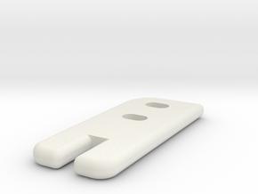 Gitterrostführung-1 in White Natural Versatile Plastic