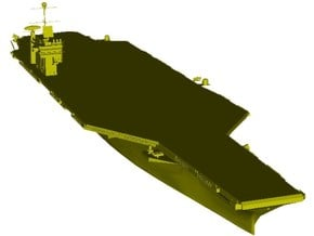 1/1800 scale USS George Washington CV-73 carrier in Smooth Fine Detail Plastic