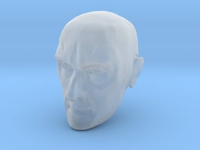 Caucasian Male 1/6 scale action figure head in Smooth Fine Detail Plastic