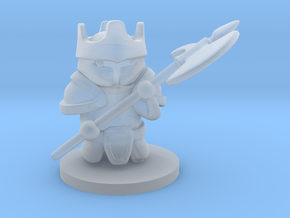 Heavy Knight in Smooth Fine Detail Plastic