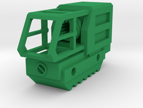 SSF Flash Hider (14mm Self-Cutting) in Green Processed Versatile Plastic
