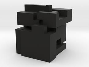 "5 elements for knot cube puzzle ""Large"" in Black Natural Versatile Plastic: Large"