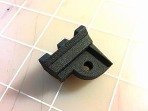 AUG Bottom Picatinny Rail (2-Slots) in Black Natural Versatile Plastic