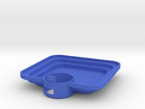 "Mulholland Drive ""Blue Box"" - 3 of 4 - Inner Lid in Blue Processed Versatile Plastic"