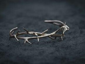 Thorn Bracelet in Polished Brass